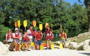 canoeing dorgogne